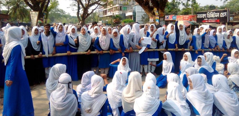 বেনাপোলে পিকআপ ভ্যানের চাপায় ছাত্রীর পা বিচ্ছিন্ন