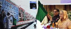 সরকার দ্রুতগামী পর্যটন ট্রেন চালু করবে : প্রধানমন্ত্রী