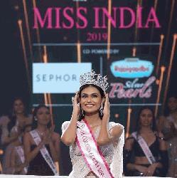 'মিস ইন্ডিয়া ২০১৯'র মুকুট জিতলেন সুমন রাও