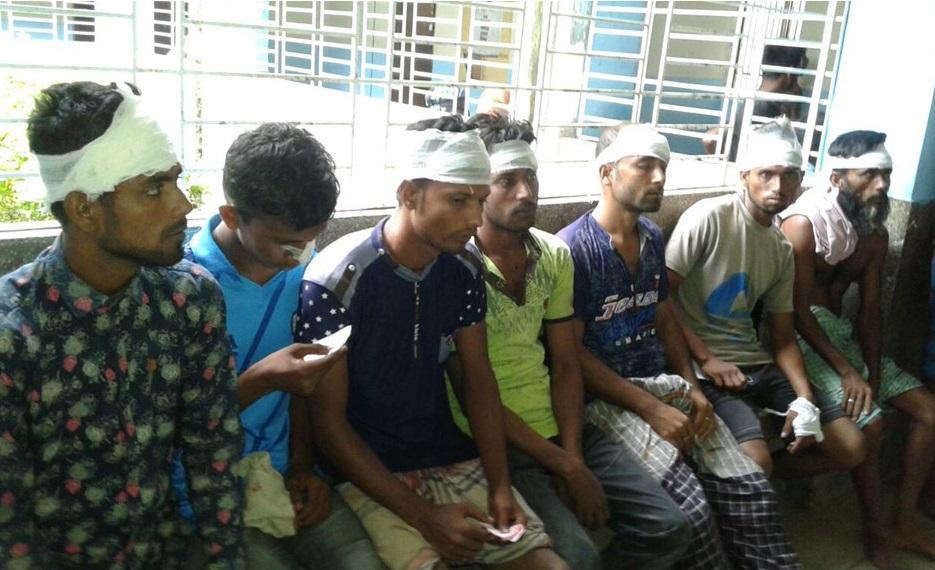 আজমিরীগঞ্জে সিএনজি কাউন্টার নিয়ে দু'পক্ষের সংঘর্ষে আহত ৫০