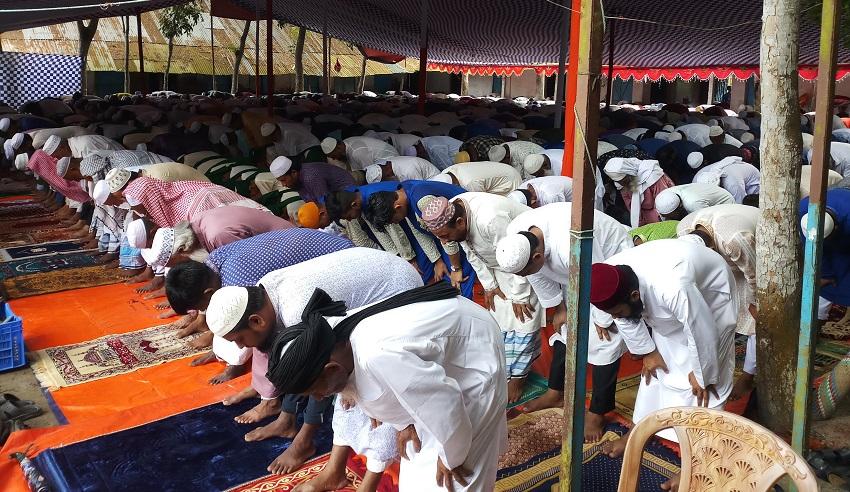চাঁদপুরের ৪০ গ্রামে ঈদুল আযহার জামায়াত সম্পন্ন