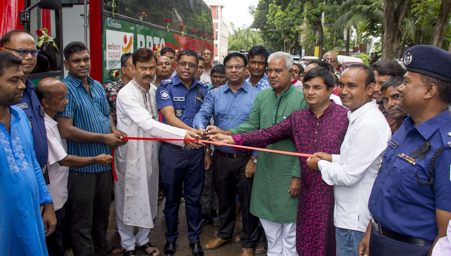চালু হলো ঢাকা-গাইবান্ধা বিআরটিসি এসি বাস সার্ভিস