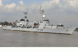 দেশে ফিরেছে নৌবাহিনীর জাহাজ 'সমুদ্র অভিযান'