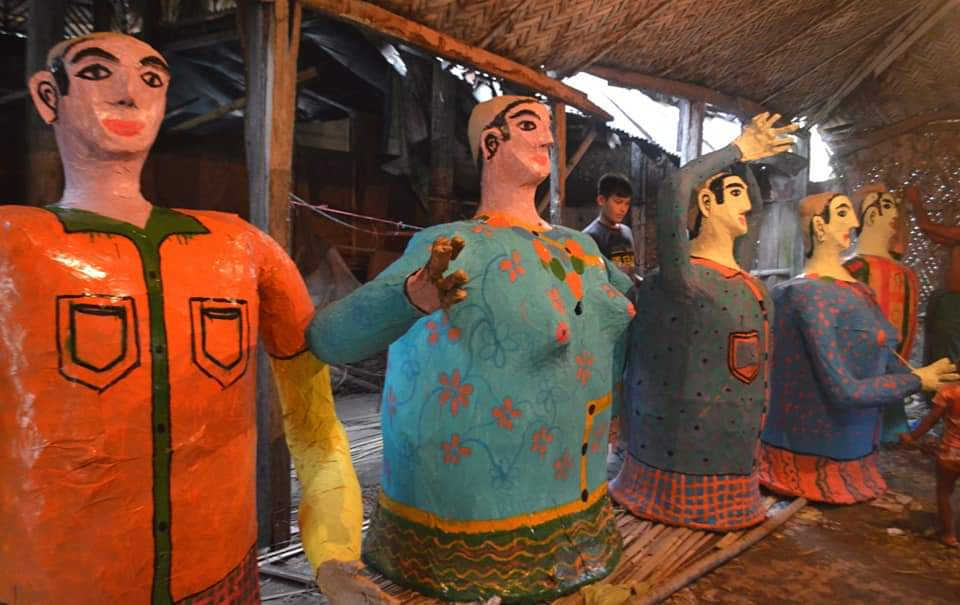 মারমাদের 'ওয়াগ্যোয়াই পোয়ে' উৎসব, সেজেছে পাহাড়ি গ্রাম
