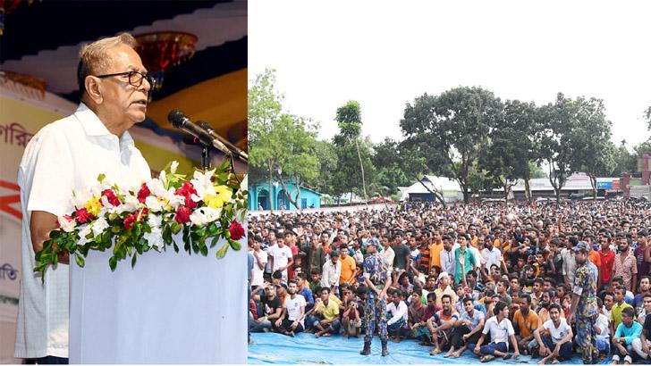 দেশে প্রবৃদ্ধির সঙ্গে পাল্লা দিয়ে বাড়ছে দুর্নীতি : রাষ্ট্রপতি
