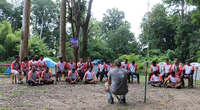 হাজারীখিলে 'অভিযানের প্রস্তুতিমূলক প্রশিক্ষণ' ক্যাম্পে প্রতিযোগীরা