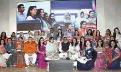 উইয়ের প্রতিষ্ঠাবার্ষিকীতে সম্মাননা পেলেন  ৩০ নারী উদ্যোক্তা