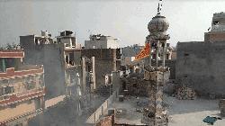 অগ্নিগর্ভ দিল্লি : মসজিদের মিনারে গেরুয়া পতাকার ভিডিওটি সত্য