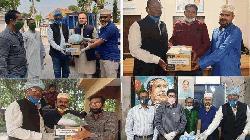 রংপুরের ৮ জেলায় করোনা প্রতিরোধ সামগ্রী বিতরণ আ. লীগের