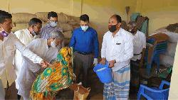 ব্রাহ্মণবাড়িয়ায় ১০টাকা কেজি দরে চাল বিক্রি শুরু