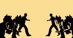 ঈদের জামাত নিয়ে আওয়ামী লীগ-বিএনপি সংঘর্ষ, আহত ১০