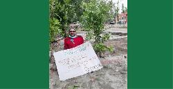গাছ লাগিয়ে করোনায় মৃতদের স্মরণ করছে 'স্বপ্ন-৩০'