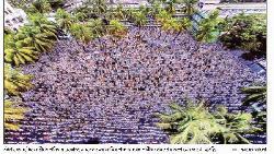 জানাজায় লাখো মুসল্লি : নিজ মাদ্রাসার কবরস্থানে চিরনিদ্রায় আল্লামা শফী