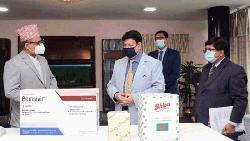 সার্ক কোভিড-১৯ তহবিল : নেপালকে চিকিৎসা সামগ্রী দিলো বাংলাদেশ