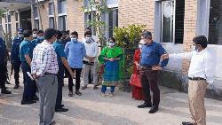 এমসি কলেজে তদন্ত কমিটির ঘটনাস্থল পরিদর্শন