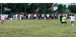করোনায় জাবির বন্ধ ক্যাম্পাসে চলছে ফুটবল টুর্নামেন্ট