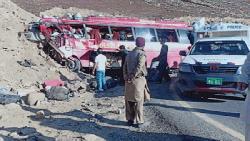 পাকিস্তানে বাস দুর্ঘটনায় ১৬ জন নিহত