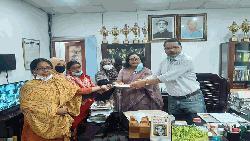 ক্যান্সার আক্রান্ত শম্পার পাশে তিতুমীর কলেজ প্রশাসন