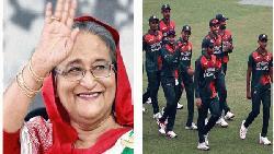 ও:ইন্ডিজের বিপক্ষে সিরিজ জয়ে জাতীয় ক্রিকেট দলকে প্রধানমন্ত্রীর অভিনন্দন