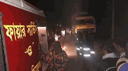 দিনাজপুরে ট্রাক চাপায় তিন মোটরসাইকেল আরোহীর মৃত্যু
