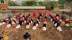 করোনায় বস্তিবাসীর পাশে বিজিএস ও লিডো