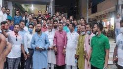 শ্রীনগরে বিএনপি নেতাদের ঈদের শুভেচ্ছা বিনিময়