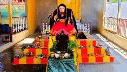 ভারতে 'করোনা দেবীর' পূজা
