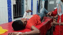 নালিতাবাড়ীতে বোমা বিস্ফোরণে কিশোর আহত