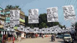 পৌর নির্বাচন: প্রচার-প্রচারণায় মুখরিত ঘোড়াশাল